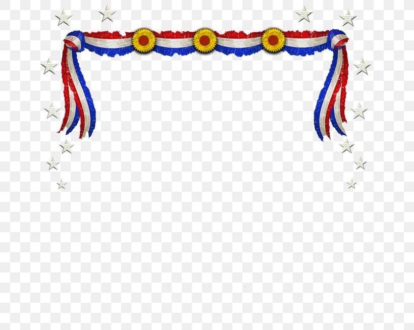 Independence Day Memorial Day Banner Clip Art, PNG.
