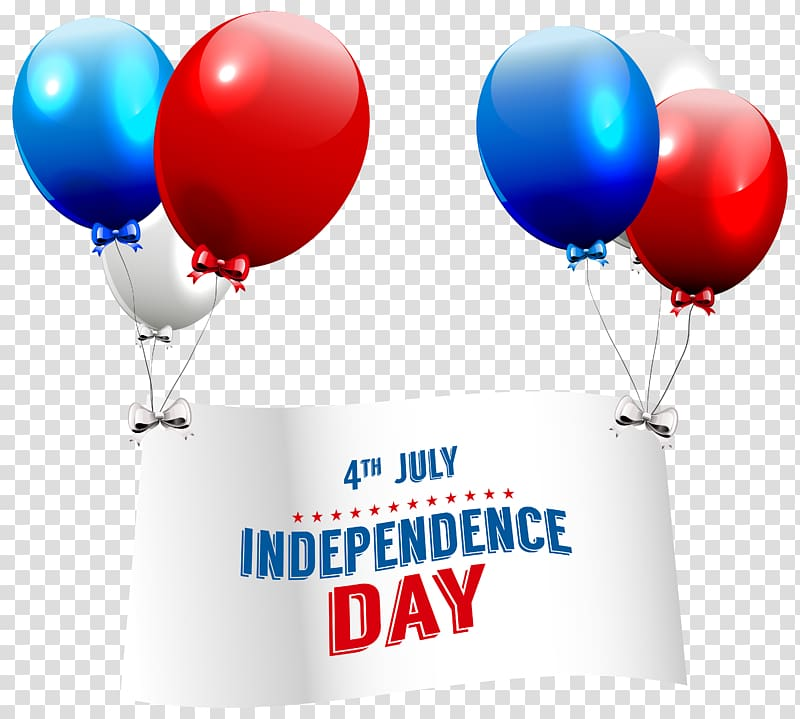4th July Independence Day banner graphic, Independence Day.