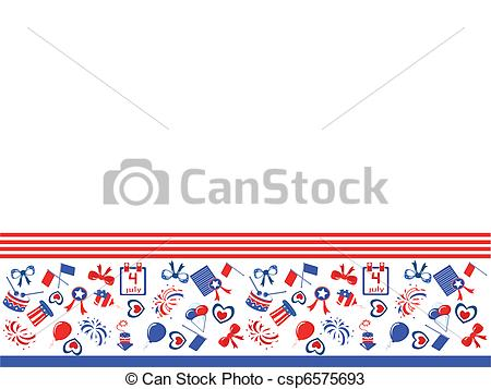 Vectors of Independence day,border,vector csp6575693.