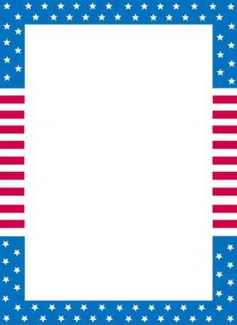 Independence Day Border Clipart.