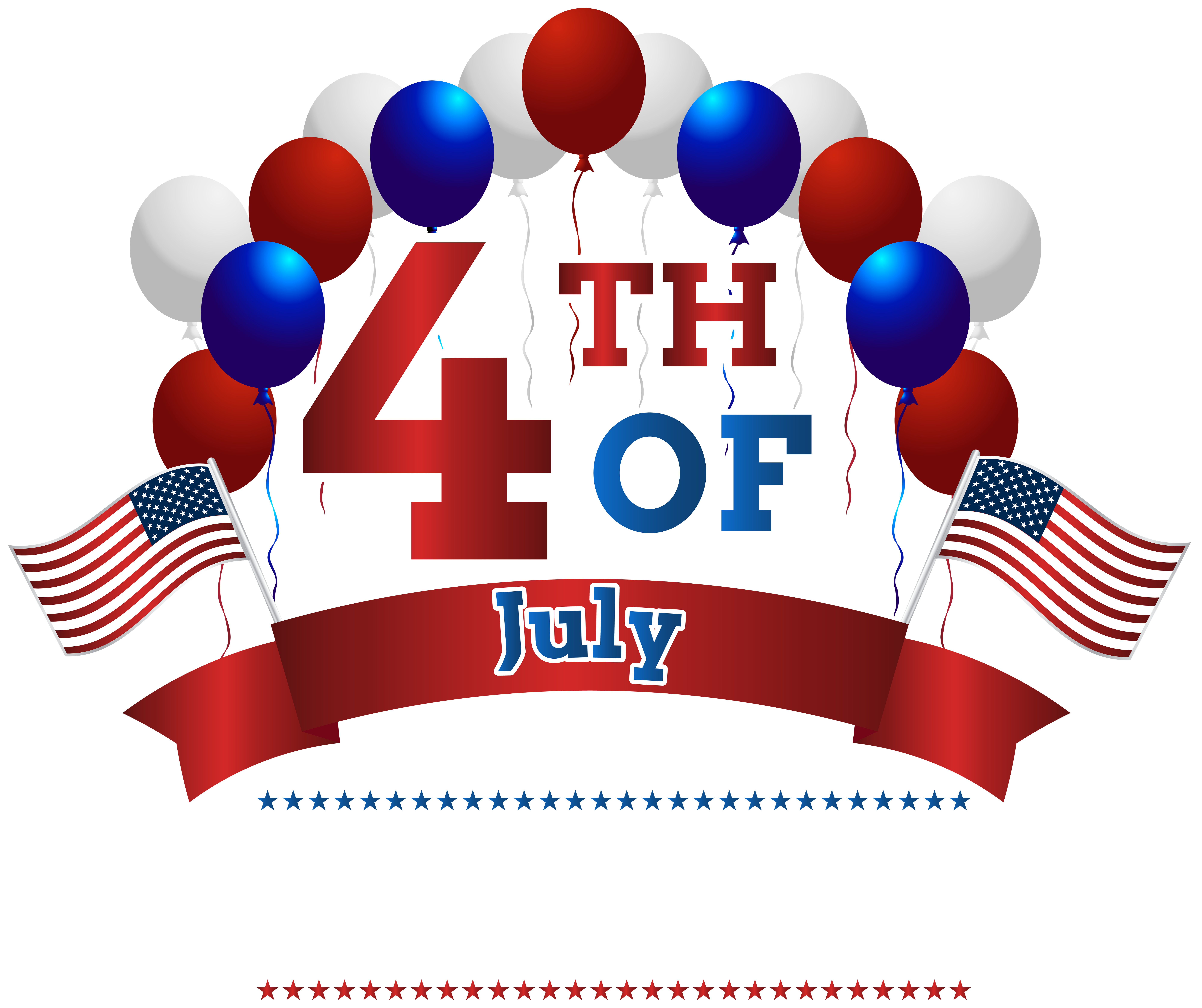 July Clipart Transparent.