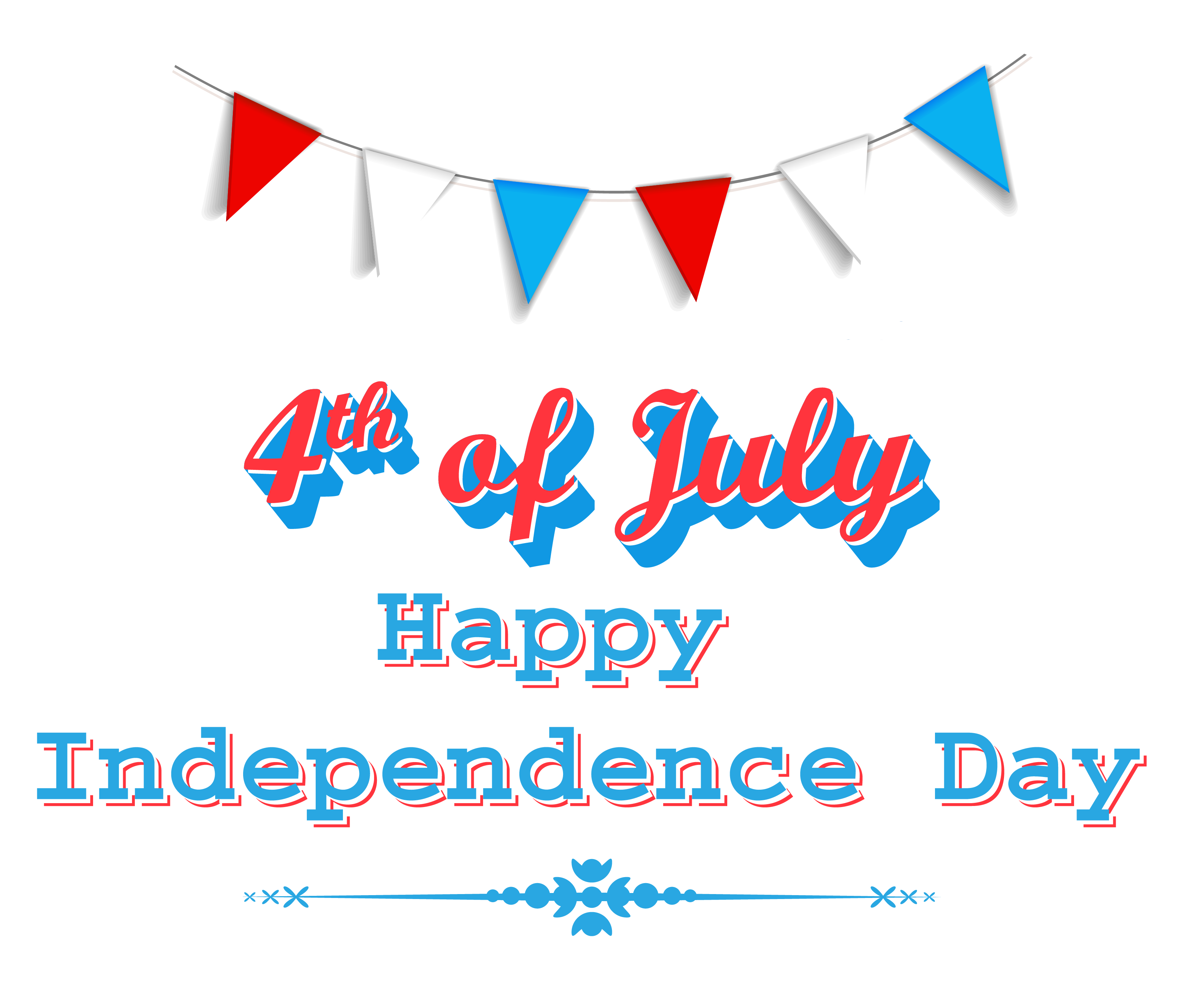 Independence Day Clipart Transparent Background.