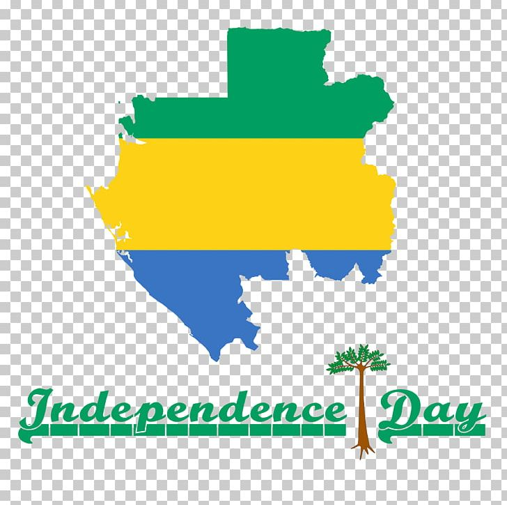 Gabon 2018 Independence Day. PNG, Clipart, Area, Brand, Diagram.