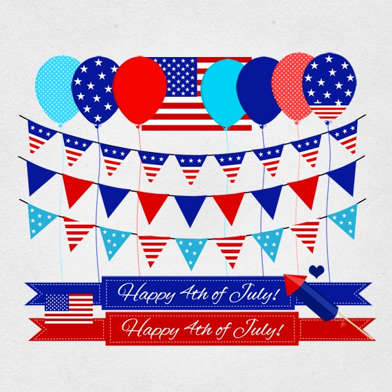 12436 Independence Day Clipart Independence Day Clipart ~ ClipartFan.