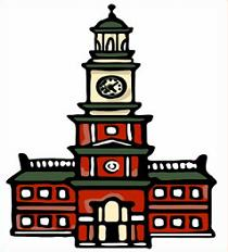 Free Independence Hall Clipart.