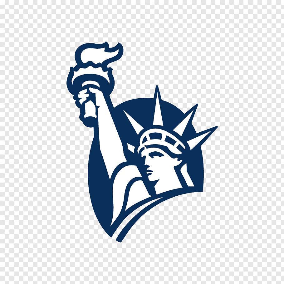 Statue of Liberty logo, Liberty Mutual Claims Life insurance.