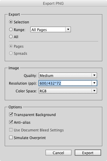 Tip of the Week: Export Page Items as JPG or PNG at the.