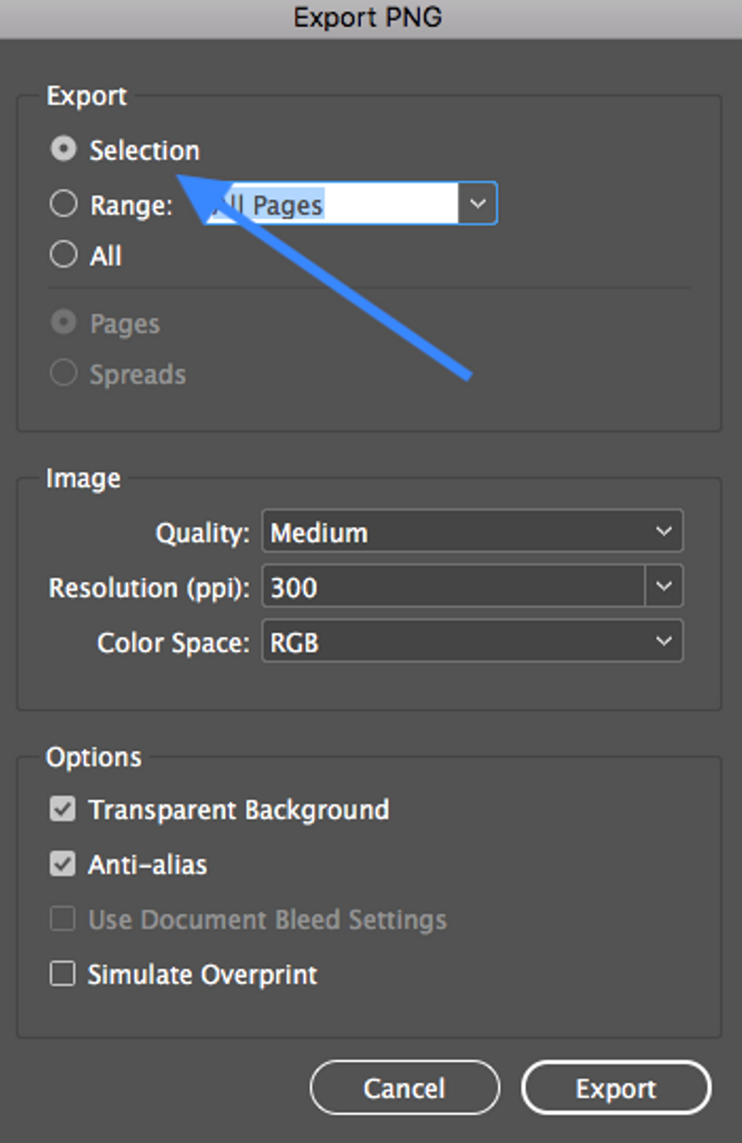 InDesign Import.