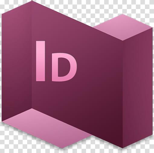 Adobe Cs and psd, Adobe InDesign logo transparent background.