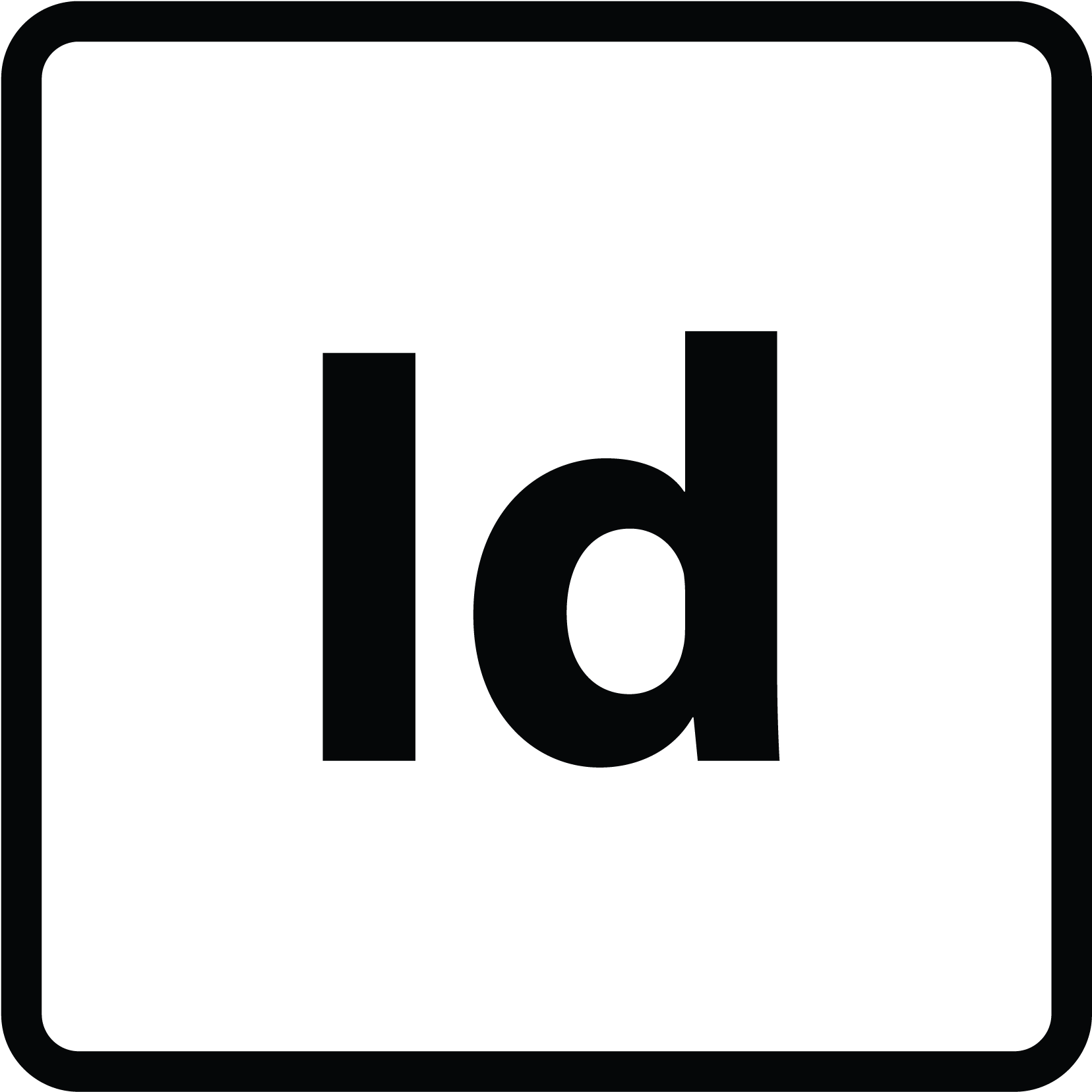 Adobe Indesign Icon.