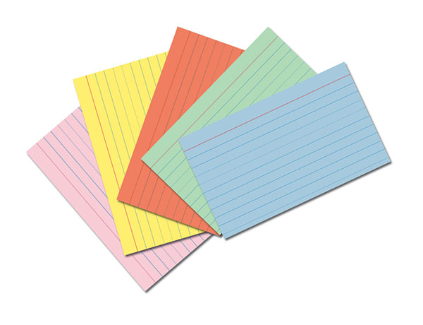 Index cards clipart 1 » Clipart Station.