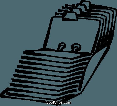 Index Clip Art.