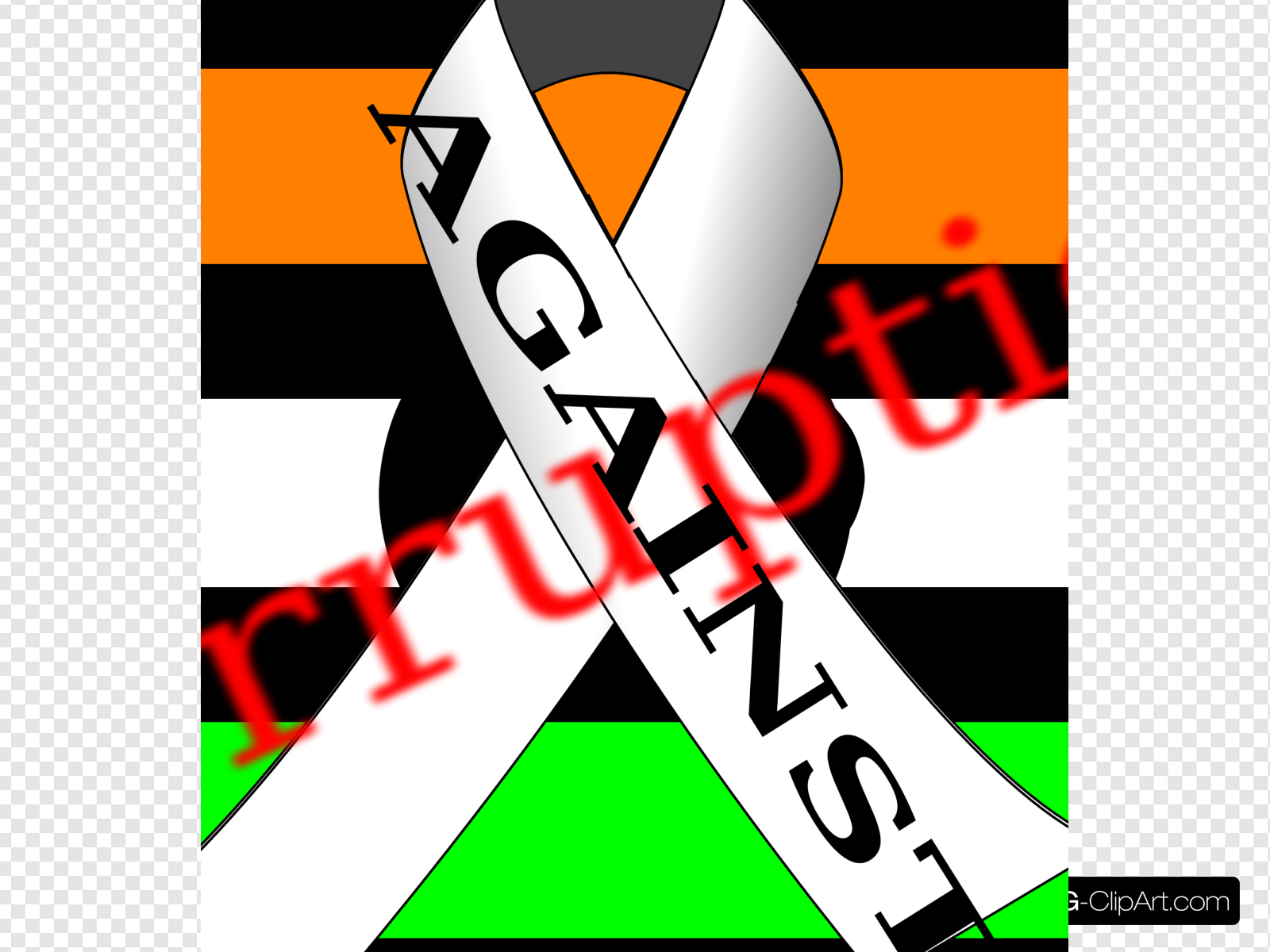 India Against Corruption Full Clip art, Icon and SVG.