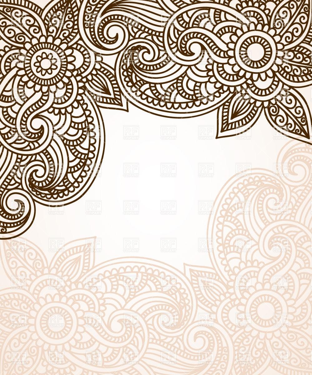 Free Henna Border Cliparts, Download Free Clip Art, Free.