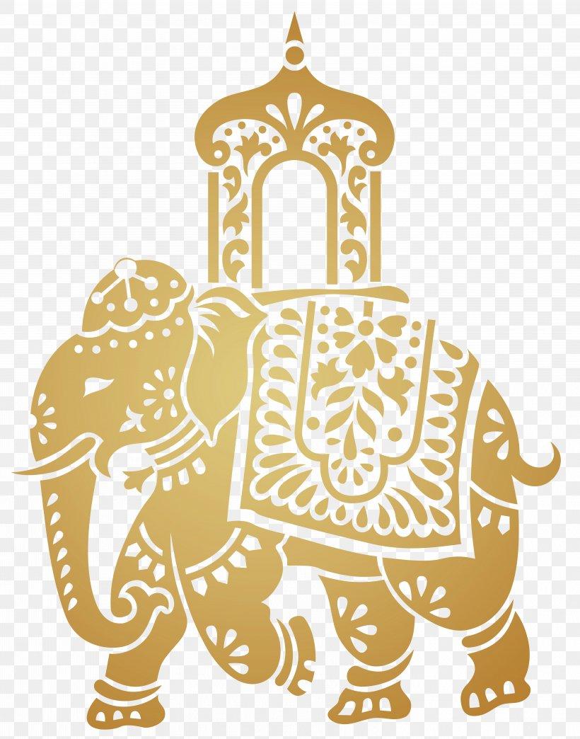 Indian Elephant Elephant Festival Clip Art, PNG, 6278x8000px.