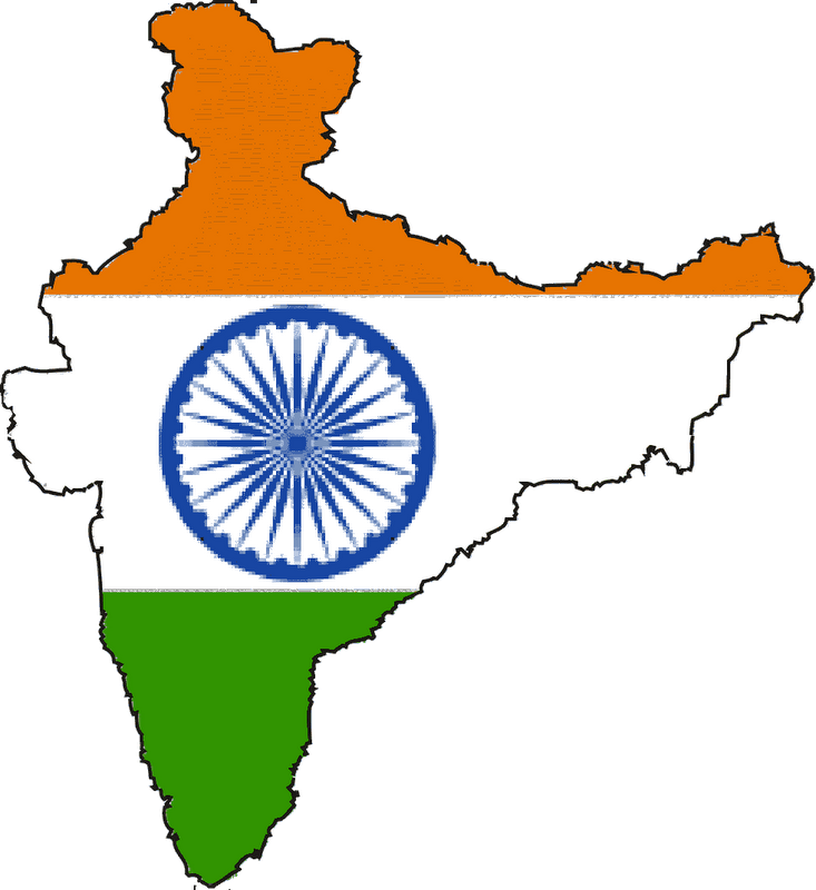 India Country Clipart.