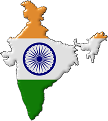 Free Animated India Flags.