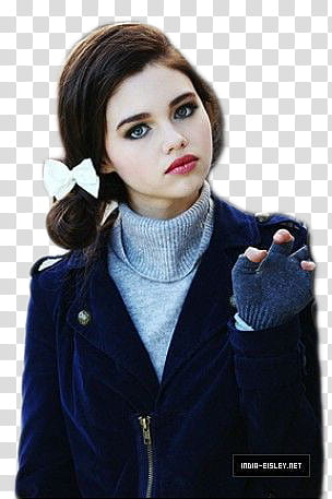 India Eisley transparent background PNG clipart.