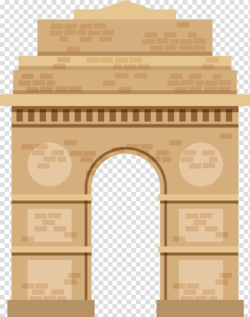 India Gate Architecture of India Triumphal arch, Indian.