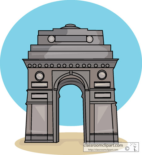 India Gate » Clipart Station.