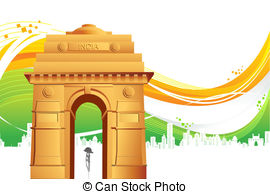 India gate Vector Clip Art Illustrations. 791 India gate.
