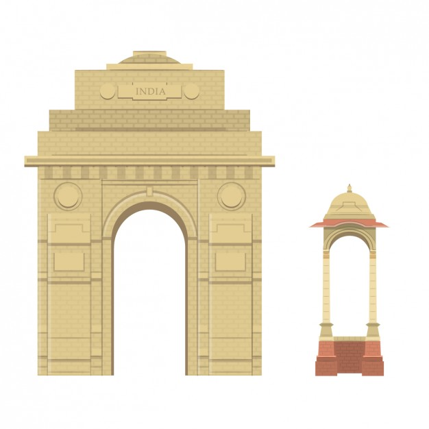 India Gate Vectors, Photos and PSD files.