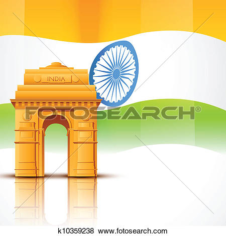 India gate Clip Art Vector Graphics. 396 india gate EPS clipart.