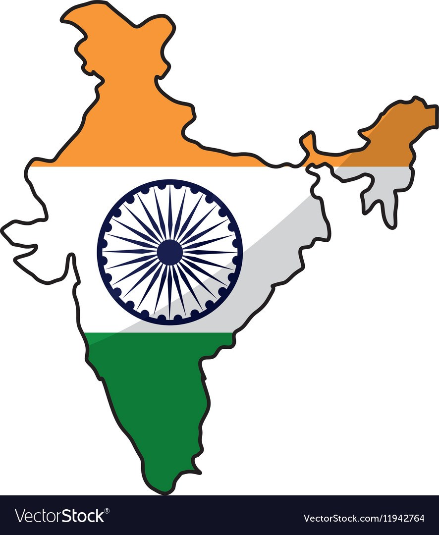 India map clipart 8 » Clipart Portal.