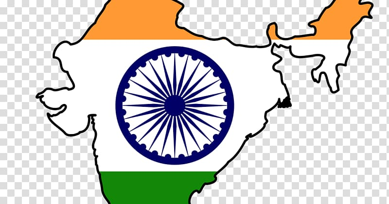 Indian map, Indian independence movement Flag of India Map.
