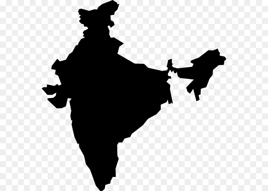India Map clipart.