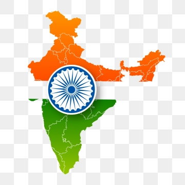 India Map PNG Images.