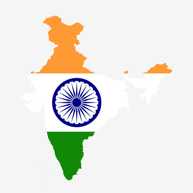 India Map Png, Vector, PSD, and Clipart With Transparent Background.