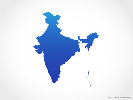 Vector Maps of India.