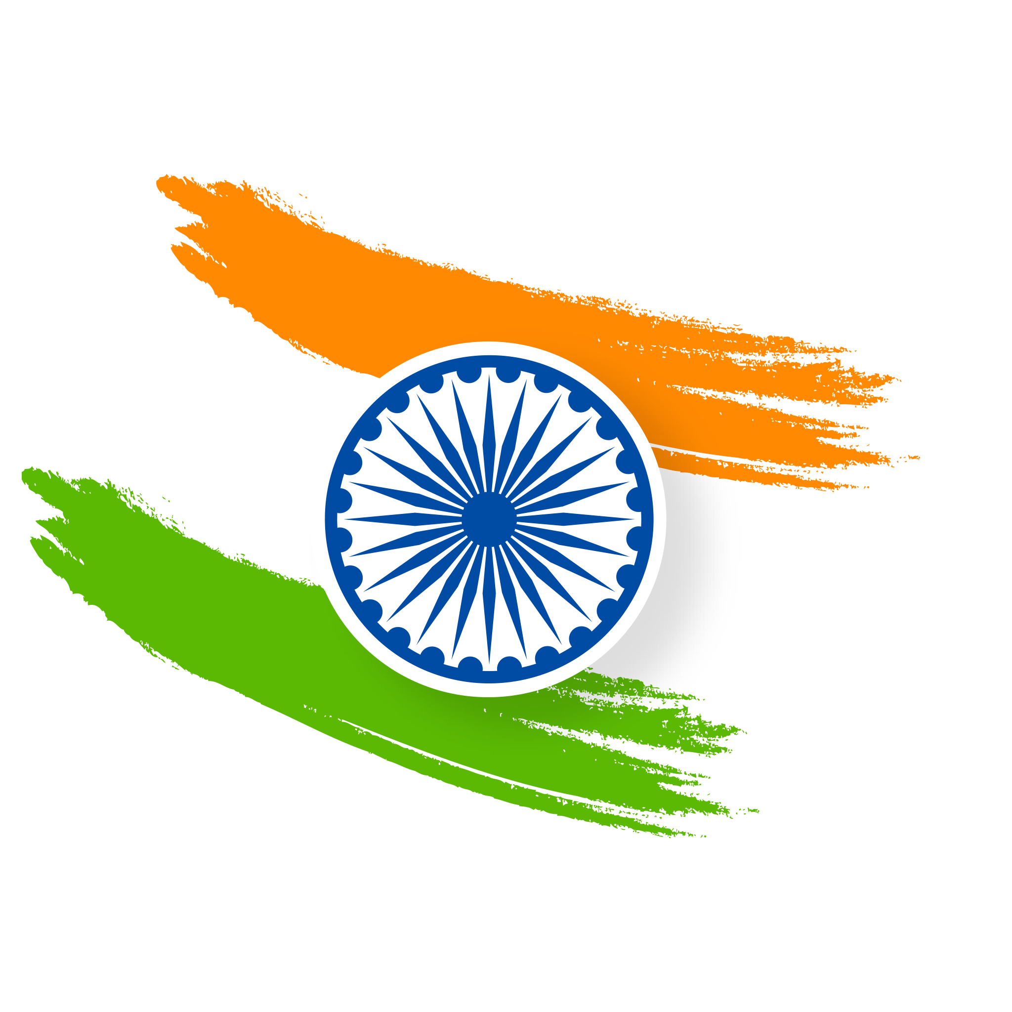 India republic day, artistic abstract background.