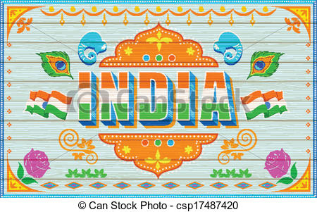 Indian Tourism Clipart.