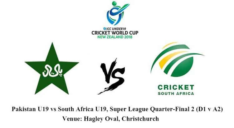 Pakistan U19 vs South Africa U19 Betting Tips and Match.