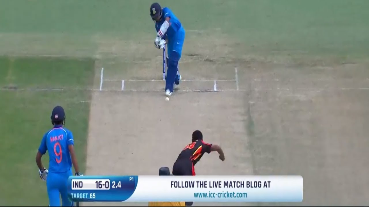 ICC U19 Cricket World Cup 2018: India U19 vs PNG U19 Review, Report &  Analysis.