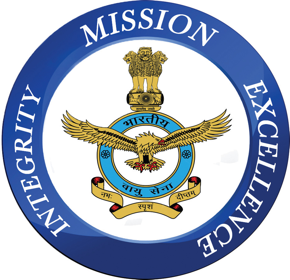 Indian Air Force Logo Clipart.