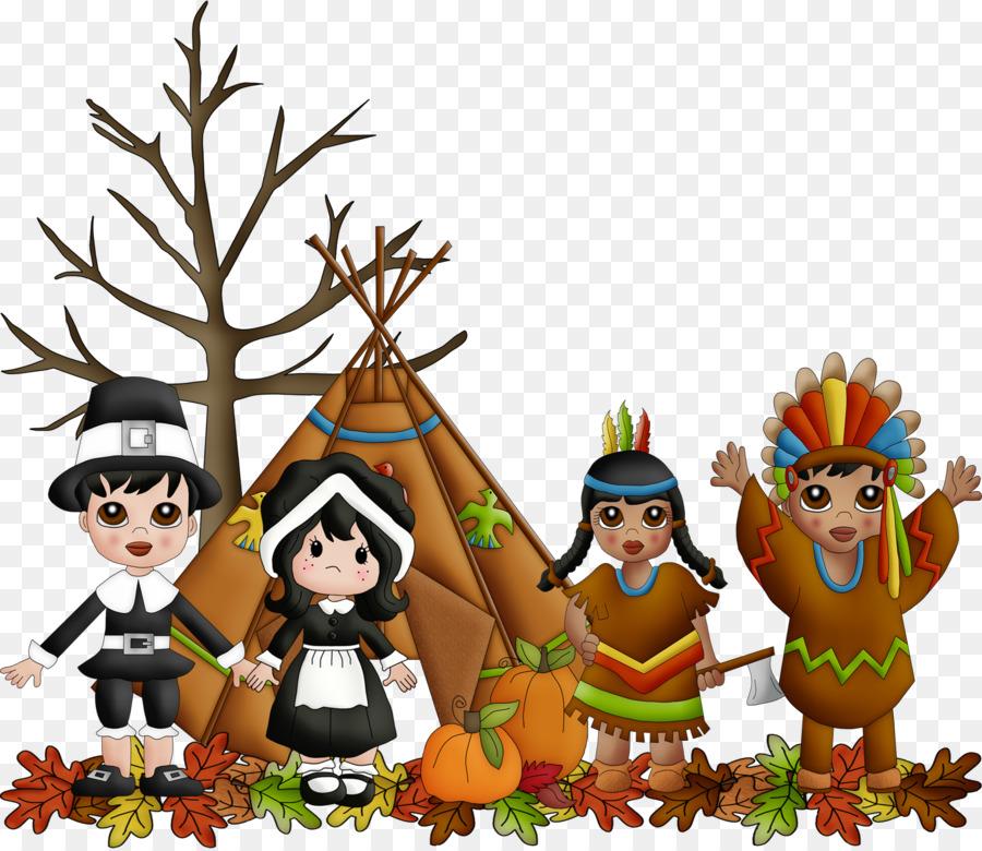 Pilgrim And Indian Png & Free Pilgrim And Indian.png.