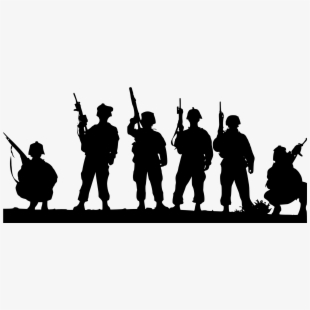 Soldier Indian Clipart Black And White Transparent.