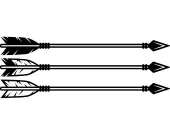 Indian Arrow Clipart.