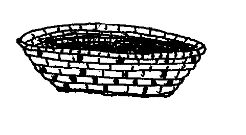 Mormon Share } Native American Basket.