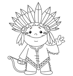 Indian Black And White Clipart.