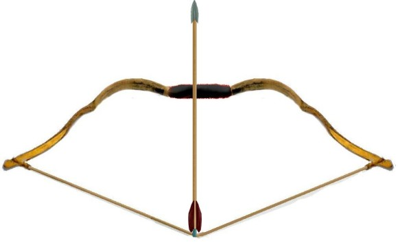 Pictures Of A Bow And Arrow.