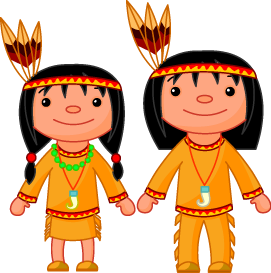 Indian Boy And Girl Clipart.