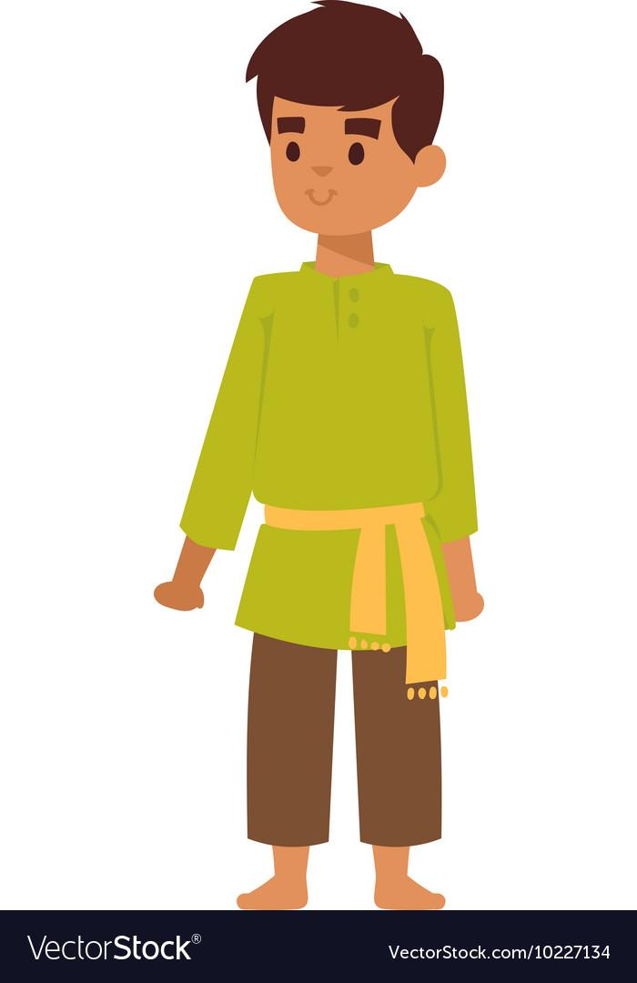 Indian boy.
