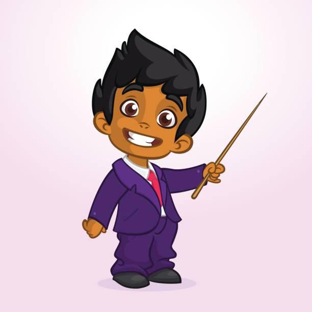 Best Indian Boy Illustrations, Royalty.