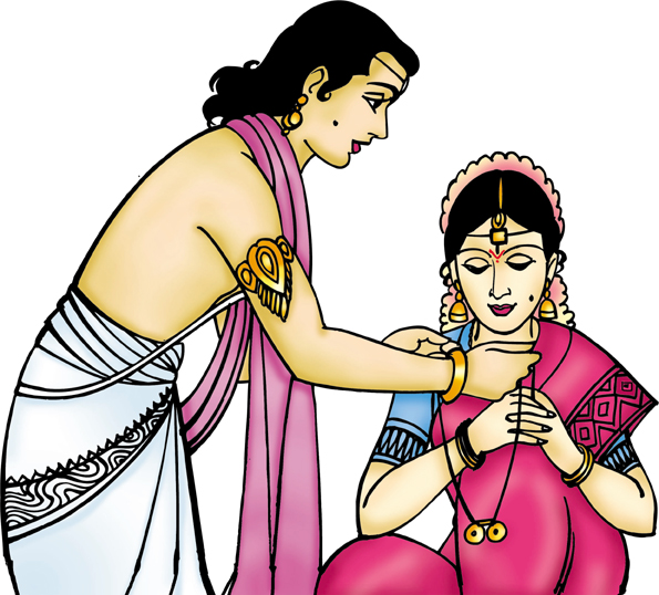 Clipart Of Indian Bride.