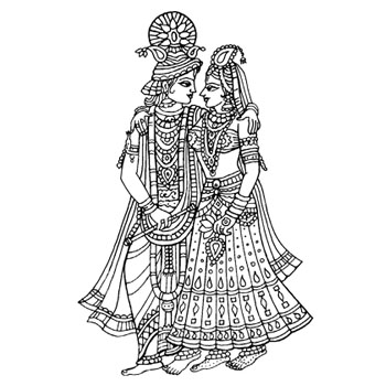 Indian Bride Clipart.
