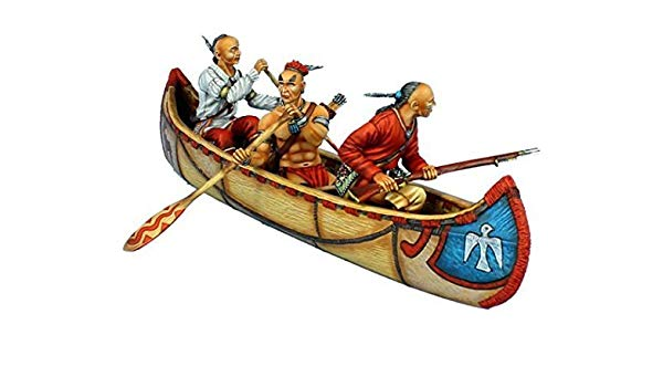 Amazon.com: First Legion AWI099 Woodland Indian Canoe Set: Toys & Games.